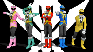 MMD NC 3-Pack - Gokais Pink, Green, and Yellow by Zeltrax987