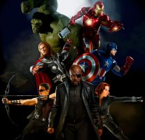 THE AVENGERS by MOROTEO56