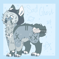 Sad Ghost Adopt | closed by JurassicPunkk