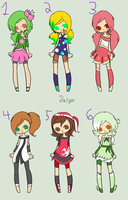 Anime Adopts :CLOSED: by Paige-the-unicorn