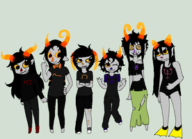 Some Fantrolls by TheViciousViper