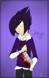 Its your Boi Dexter here to stab you in the back by KrystaliaProductions