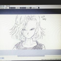 Android 18 by trazor29