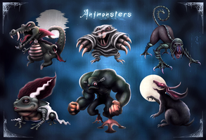 Animonsters by D3RX