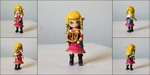 LoZ Skyward Sword: Zelda by yingmakes