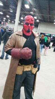 Regina Fan Expo 2016 Hellboy by QTZephyr