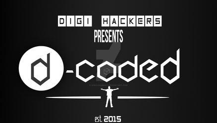 D-Coded Poster Design Inspiration by shravanbhat