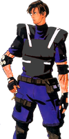 Leon S. Kennedy RE Gaiden by efrajoey1