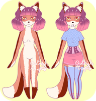 Fox Anthro Adopt [ CLOSED ] by OstrichAdopts