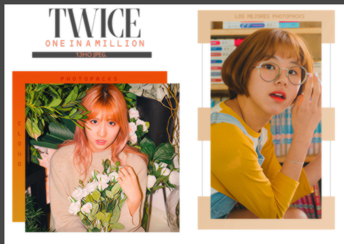 197| TWICE (ONE IN A MILLION PHOTOBOOK) PHOTOPACK by CloudPhotopacks
