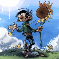 By: Andre Franquin by figsf