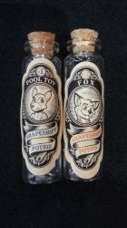 Victorian Style Transformation Vials by SouthParkTaoist