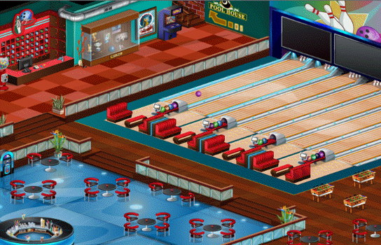 Bowling Saloon Environment Design Animation by yosun