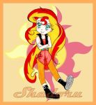Sunset Shimmer. by Shadoru-Flames