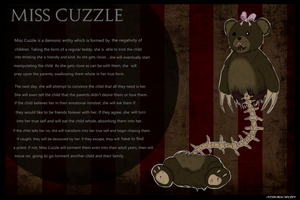 Creepypasta OC: Miss Cuzzle (UPDATED 2018) by MysticalSorcery