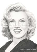 From Norma Jean to Marilyn by aurelia-acc