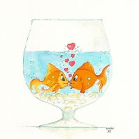 Fishy Love by Strooitje