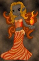 Fire - my second faerie by deadeuphoric