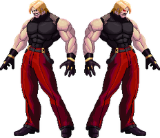 Rugal test type KOF XII by 0kronos0
