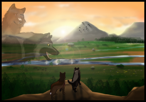 HoTL- The Three Lands by AhikuWolf