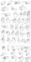 Senshistock Hand Challenge Pack by NaliaDeArnise