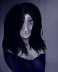 Blue Eyes by Roses-under-darkness