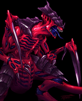 Tyranid Warrior by Indofrece