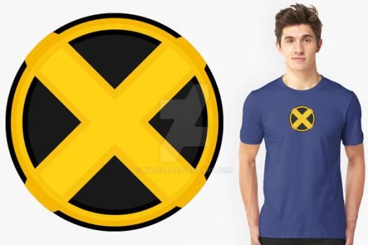 X-Men Logo t shirt by KalEl7