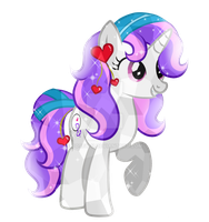 Comission-8 Sweetest Night Cystal Pony by Posey-11