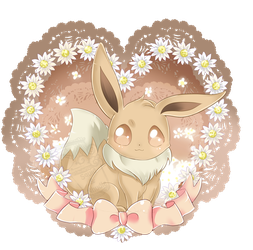 Commission #2 - Eevee by Ayasal