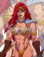 Red Sonja Commission by suppa-rider