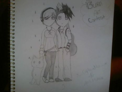 BURN Art Contest Pic. by Beloathed
