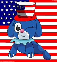 4th Of July Popplio!!!! by teamlpsandacnl