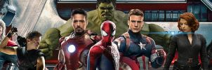 Marvel Cinematic Universe Banner by PaulRom
