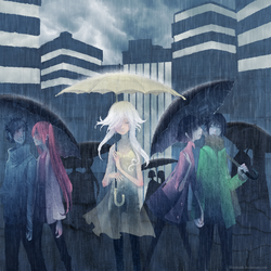 Umbrella, 'ella, 'ella... by shirotsuki