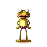 Happy Frog by madPXL