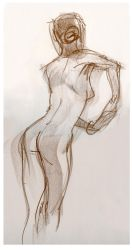 Life Drawing 7 by ChristineAltese