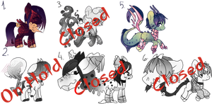 Auction: Mixed specie Batch [Open] by DanuuArtOriginal