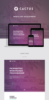CACTUS _ Mobile Apps Development by Daineen