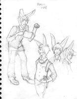 march hare charactersketch by lizabeth