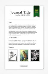 Bookmark Journal by mushir