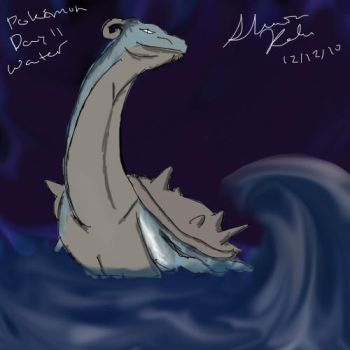 Lapras by kissingthebee