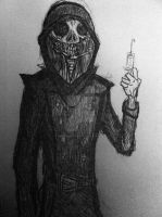 New OC: 'Pariah' by DECAYtheRevenant