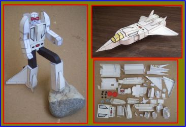 GOBOT GUARDIAN LIDER 1 EN CARTULINA by Paperman2010