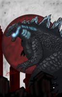 Legendary Godzilla by gscratcher