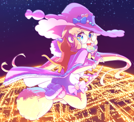 Candy Witch by MelynnRose