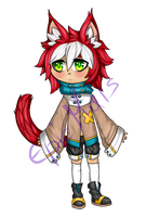 chibi auction :open: by bellpup