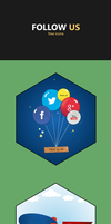 Follow us icons by jozef89