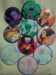 Steven Universe - Fusion Frenzy (set of 10) by MaverickTears