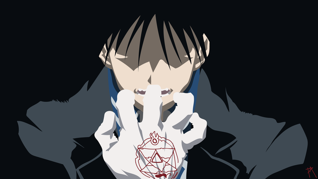 Roy Mustang Wallpaper by Plagued-art